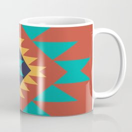 Southwest Indian Tribal Abstract Pattern Coffee Mug