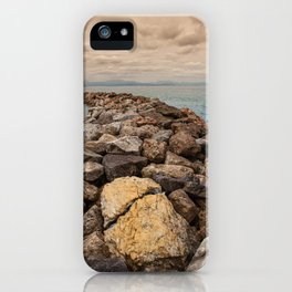 The breakwater iPhone Case