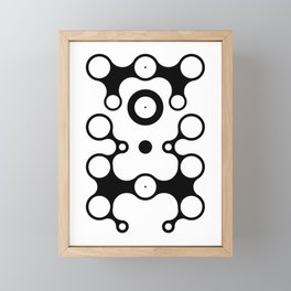 Lichtoglyphs - the language of light Framed Mini Art Print