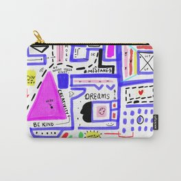 Plan for an Extraordinary Life Carry-All Pouch