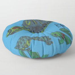 Turtle's Buddies Floor Pillow