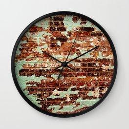 Half Naked Bricks Wall Clock