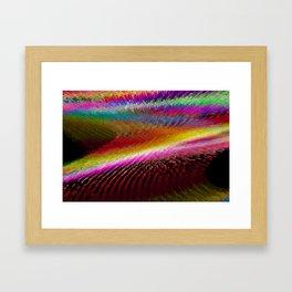 Colour in Waves Framed Art Print