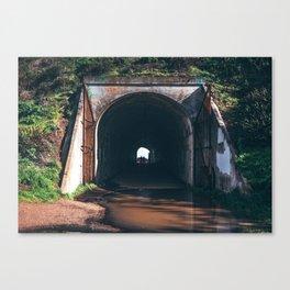 War Tunnel Canvas Print