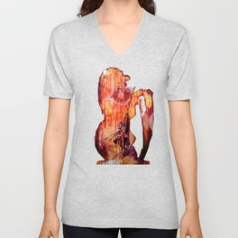 Telse and Magdalena or the question: how free is a Dithmarscher? Unisex V-Neck