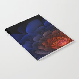 Purple Flower Flame Notebook