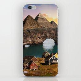 A Diverse Land iPhone Skin