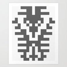 Teufelhirsch Art Print