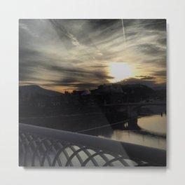 Chattanooga at Sunset Metal Print