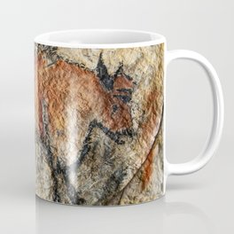 Cave painting in prehistoric style Coffee Mug