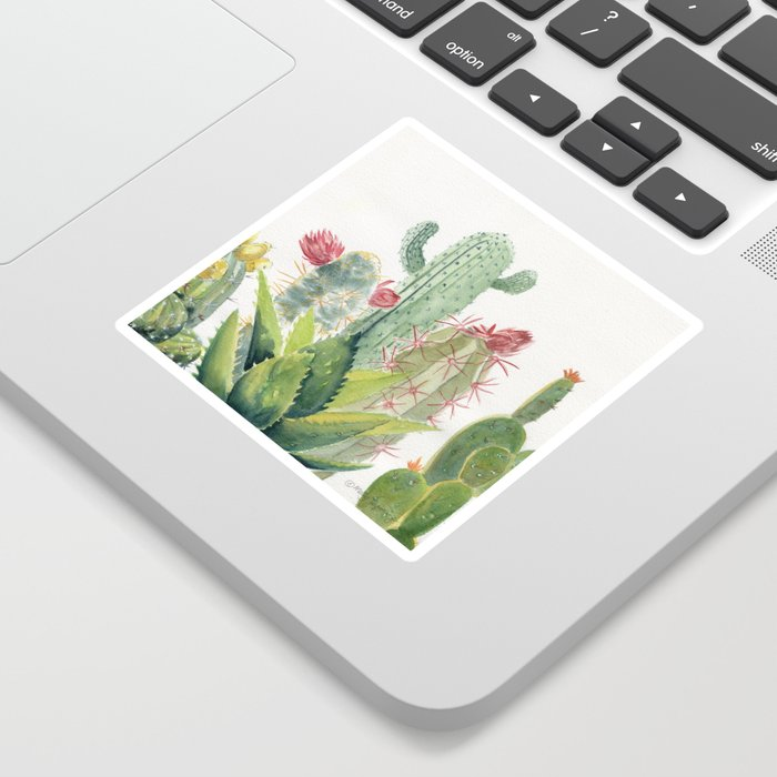 Cactus Watercolor Sticker