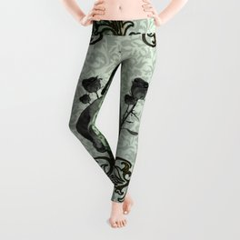 Skull and crows Leggings