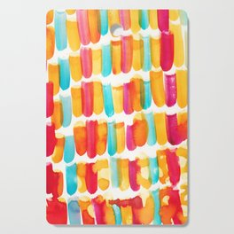 12 | 191128 | Abstract Watercolor Pattern Painting Cutting Board