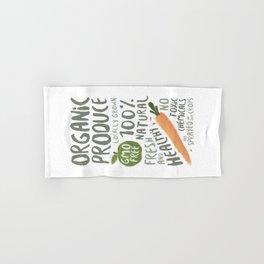 Organic Produce Hand & Bath Towel