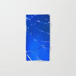 Blue Vintage Crackle Hand & Bath Towel