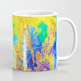 Imaginäre Landschaft - Ölgemälde auf Leinwand Coffee Mug
