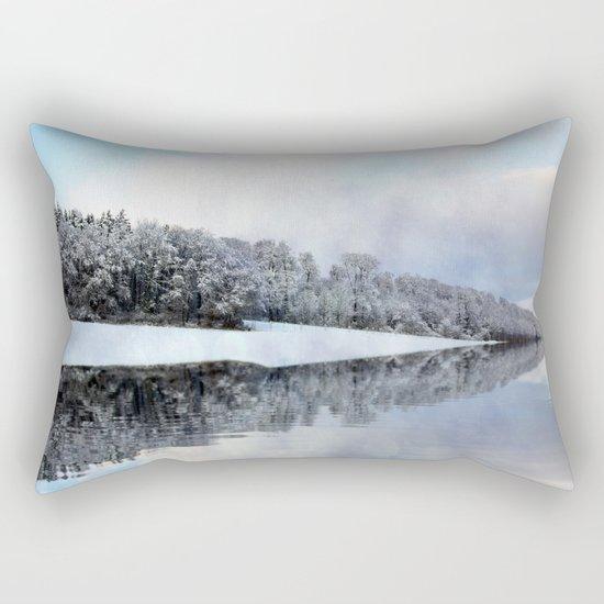 Cold Winter Morning Rectangular Pillow