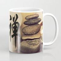 zen Mugs featuring Zen by Herzensdinge