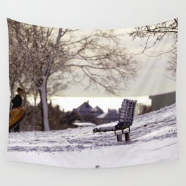 Sureal Winter Dream Wall Tapestry