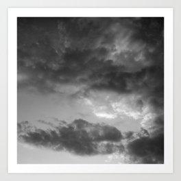 'Clouds 3' Art Print