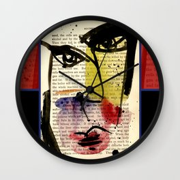 I See 16 by Kathy Morton Stanion Wall Clock