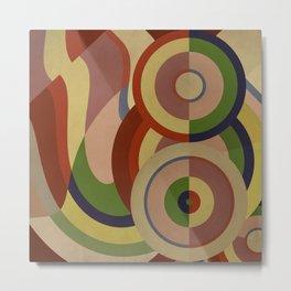 Sonia Circles SIX Metal Print