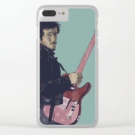 The Boss Bruce Clear iPhone Case