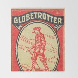 Old Matchbox label #12 Throw Blanket