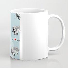 I Heart Truckers Coffee Mug