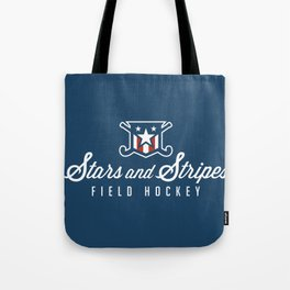 Stars and Stripes Logo Tote Bag