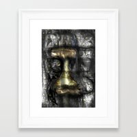 camus Framed Art Prints featuring Camus by John Hansen