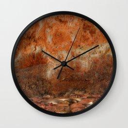 Idaho Gem Stone 9 Wall Clock
