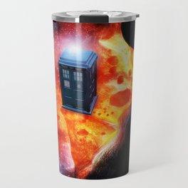 Space Tardis Travel Mug