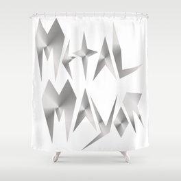 Metal Mayor Shower Curtain