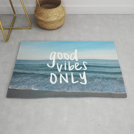 good vibes only 2 Rug