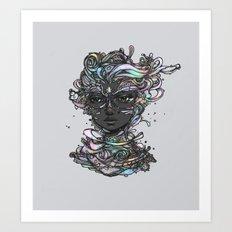 Interplay of Color Art Print