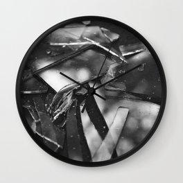 Broken Light Wall Clock