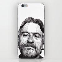 robert farkas iPhone & iPod Skins featuring Robert by Rik Reimert
