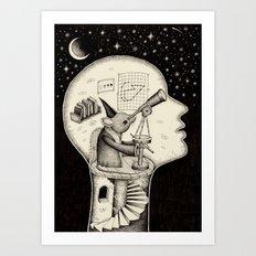 'Observatory' Art Print