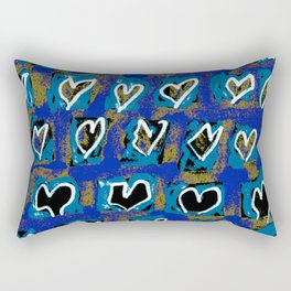 Flying Hearts ~ Pure Love Rectangular Pillow
