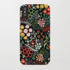 Winter Bouquet iPhone X Slim Case