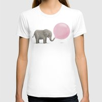 bubble T-shirts featuring Jumbo Bubble by Monica Gifford