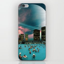 Evening Swim iPhone Skin
