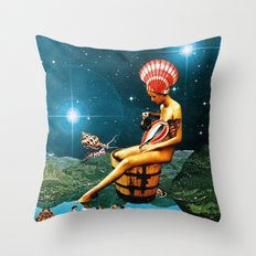 Amphitrite Throw Pillow