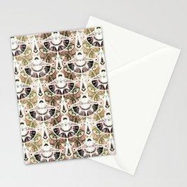 The art design. Retro . Stationery Cards