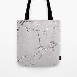 light grey modern marble Tote Bag