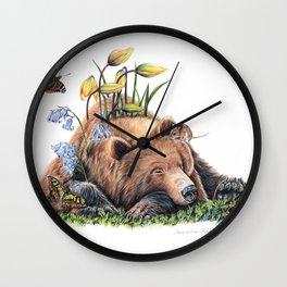Snoozing Wall Clock