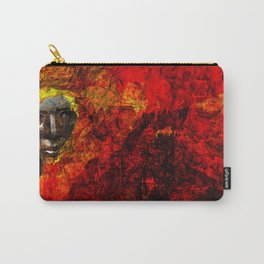 Face in the fire Carry-All Pouch