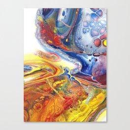 Fluid Art 11 Canvas Print