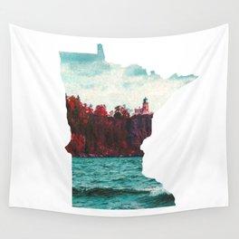 Minnesota-Split Rock Lighthouse at Lake Superior Wall Tapestry